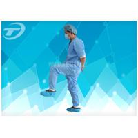 Disposable Non - Woven Fabric Hospital Patient Gown With CE Certified