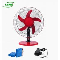 3 Speed 16 Inch Ac Dc Table Fan With Rechargeable Battery Lower Noise Manufactures