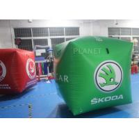 Buy cheap 1.5m Inflatable Buoy With LOGO Printed, Floating Inflatable Tube 0.6mm PVC from wholesalers