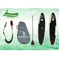 11' black white fish Stand up paddle boards  China Tai Chi design on water paddling Manufactures