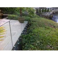 Inox stainless steel patch fitting / standoff glass railing for exterior use Manufactures