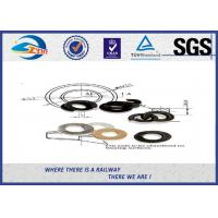 High Strength Railway Spring Washer Steel 65Mn / Lock  Washers Manufactures