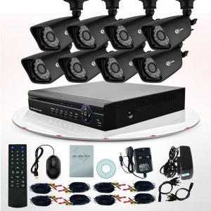 8CH IR 800TVL Video DVR Surveillance System CCTV Camera Kits For Home Security Manufactures