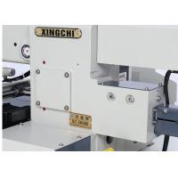 Leather Industrial Flatlock Sewing Machine , Thick Fabric Programmable Sewing Machine  Manufactures