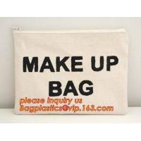 eco friendly wall hanging bags cotton linen sundries basket jute cosmetic bag for women,soft organic cotton cosmetic bag Manufactures
