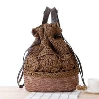 lady backpack straw bags student backpack 80292 Manufactures