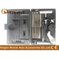Emergency Heavy Duty Car Tire Repair Kit , Car Tire Patch Kit With Digital Gauge Manufactures
