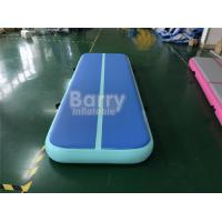 Custom Indoor Outdoor Airtight Inflatable Air Track Gymnastics Mat For Gymnastics Manufactures