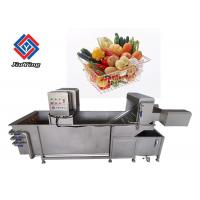 China Salad Celery Vegetable Bubble Washing Machine With 1 Year Warranty on sale