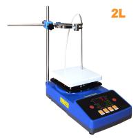 Laboratory High Quality Temperature Cheap Magnetic Stirrer with Heating Hot Plate Manufactures