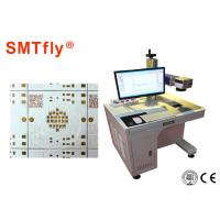Automatic FR4 PCB Laser Marking Machine 300*300mm Working Range SMTfly-DB2A Manufactures