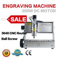 Buy cheap small 3040 3 axis 2.2kw wood carving cutting milling machine for sale from wholesalers
