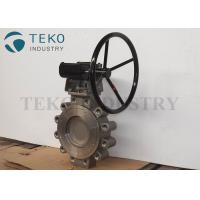 WCB High Performance Butterfly Valves Long Life Span Two Offset Imported Design Manufactures
