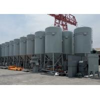 China Corrugated Steel Cement Storage Silo Vertical Bolted Assembly For Construction on sale