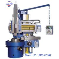 China Double Column Vertical Turning Lathe Machine For The Rough And Fine Processing on sale