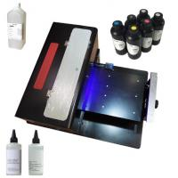 Automatic UV LED Flatbed Printer With Water Circulation Cooling System Manufactures