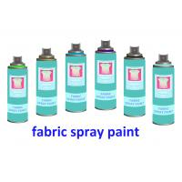 Quality Non toxic UV Resistance Fabric Spray Paint for Clothes , Waterproof Liquid Paint for sale