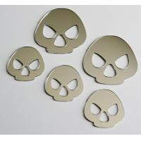 PC / PETG / PMMA Mirror Acrylic Sticker OEM For Indoor / Wall Decoration Manufactures