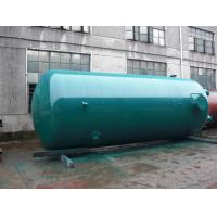 Super Insulation Vertical Air Tanks , Dual - Axle Pressure Vessel Tanks Manufactures