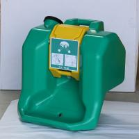 15 minutes Bright green Emergency portable eyewash  station/ 60L eye washer, Gravity Fed Eyewash similar to HAWS Manufactures