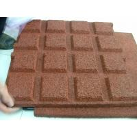 Quality Anti UV 5 CM Rubber Mats Outdoor Playground Anti Slip ISO9001 for sale