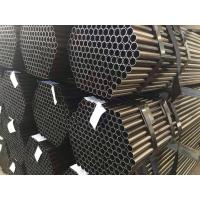 china material erw round mild steel pipe tube Manufactures