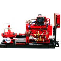 500 GPM 195m NM Diesel Engine Driven Fire Pump UL FM NFPA 20 SS304 Impeller Manufactures