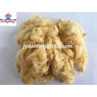 1.5D Light Yellow Polyester Staple Fiber