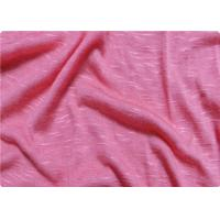 Pink / White Viscose Fabric Furniture Upholstery Fabric For Sportswear Manufactures