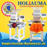 2018 newest 15 needles one head  computerized embroidery machine for cap/ t shirt/ shoes like tajima embroidery machine Manufactures