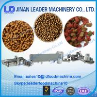 dry dog/fish/cat pet food processing machine/ production line Manufactures