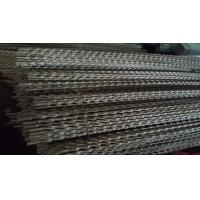 China Twisted Stainless Steel Heat Exchanger Tubes Nickels 200 201 Oval Steel Tube on sale