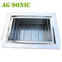 Automatic Stainless Steel Ultrasonic Jewelry Cleaner , Ultrasonic Silver Cleaner Manufactures