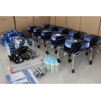 Piston Pump Residential Paint Sprayer Dark Blue For Latex Paint Manufactures