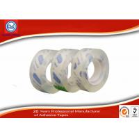 12mm Clear Adhesive BOPP Sticky Stationery Tape For Office & School Use Manufactures