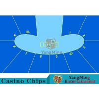 Anti - Slippery Roulette Wheel Layout / Craps Board Layout With Smooth Surface Manufactures