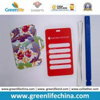 Various Shape PVC Luggage Tag with Custom Special Logo Design Manufactures