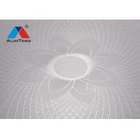 Buy cheap 300*300mm Interior Decorative Materials Aluminum Ceiling Panel For Kitchen from wholesalers