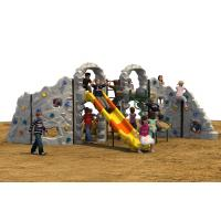 Preschool Kids Climbing Mountain With Climbing Holds Rounded Edge Manufactures