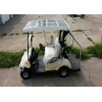 Pure Electric 3KW DC Motor Electric Golf Car For 2 Persons With Solar Panel