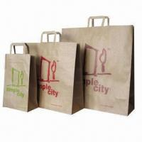 China Eco-friendly Paper Bag, Made of Kraft Paper, Customized Orders are Welcome on sale