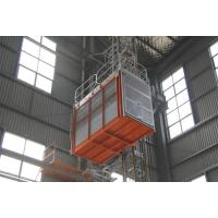 3.2 × 1.5 × 2.5m VFD Construction Lifts / Building Lifter High Reliability Euro Tech Manufactures