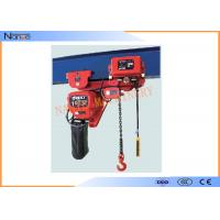 China Light And Durable Harrington Chain Hoist 3m To 130m Length Water Proof Push Button on sale