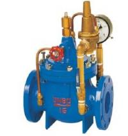 300X Slow-shut check  control valve-Ductile Iron Hydraulic Control Valve Manufactures