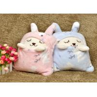 Portable Embroidery Solid babies Super Soft Fleece Blankets throws With Gift Pack Manufactures