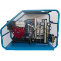 Gas powered scuba reciprocating air compressor filling cylinders at home or in laboratory Manufactures