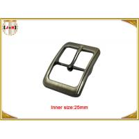 Fashion Silver Plated Custom Zinc Alloy Metal Pin Belt Buckle / Tri Glide Buckle Manufactures