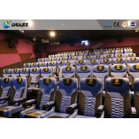 Business Centre 4D Movie Theater Electric Motion Rider Equipment 80 Seats Manufactures