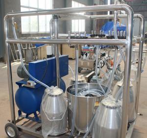 550l/Min Vacuum Pump Capacity Goat Milking Machine , Cow Milking Equipment Manufactures