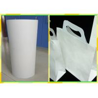 Quality Smooth Paper Surface Virgin Kraft Paper Sheets For Food Bags / Paper Cups for sale